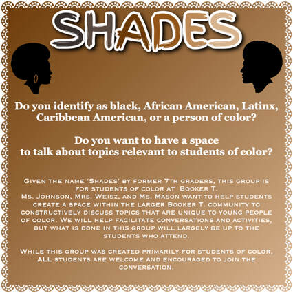 Shades: A Multiculture Affinity Group